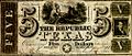 Republic of Texas 1839 five dollar bill.jpg