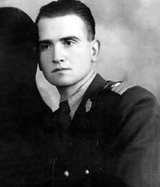 "Romanian anti-communist resistance movement - Lieutenant Toma Arnăuțoiu, leader of ""Haiducii Muscelului"", one of the most long-lived groups"