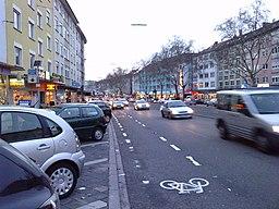 Rheinstraße in Karlsruhe