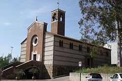 The church of Santi Barbara and Paolo