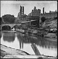 Richmond, Va. View on James River and Kanawha Canal near the Haxall Flour Mills; ruins of the Gallego Mills beyond LOC cwpb.02532.jpg