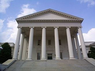 Virginia General Assembly - Image: Richmond Virginia Capitol