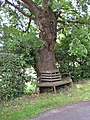 Rickety seat in a country lane - geograph.org.uk - 926801.jpg