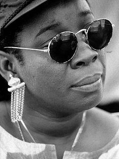 Rita Marley Cuban-Jamacian singer; the widow of Bob Marley