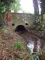 River Mun at the crossing in the village of Mundesley, 5th October 2007.JPG