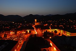 Skyline of Baia Mare