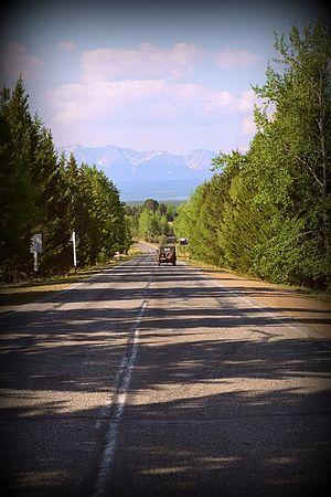 Дорога на Аршан