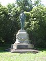 Robert Burns statue in Golden Gate National Park, San Francisco.JPG