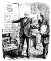 Robert Cecil, 1st Viscount Cecil of Chelwood & Warren G. Harding - Punch cartoon - Project Gutenberg eText 18114.png