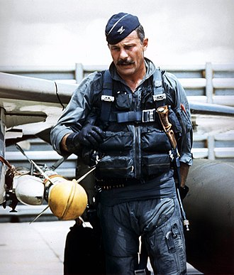 Robin Olds - Image: Robin Olds during vietnam war