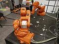 Robots en posició de treball.JPG