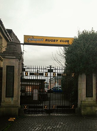Rodney Parade - Rodney Parade memorial gates