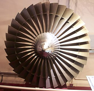 Rolls-Royce RB211 - A RB211 fan at Hong Kong Science Museum