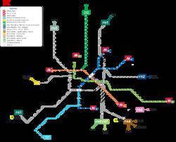 Métro de Rome — Wikipédia