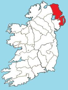 Roman Catholic Diocese of Down and Connor map.png