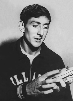 Ron Delany - Delany in 1957