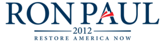 Ron Paul presidential campaign, 2012 - Image: Ron Paul presidential campaign, 2012 logo