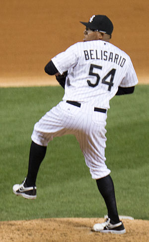 Ronald Belisario - Belisario during his tenure with the Chicago White Sox in 2014