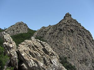 Garajonay National Park - Image: Roque de La Zarcita WLE Spain 2015