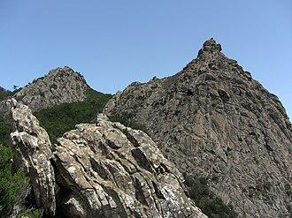 Garajonay National Park - Image: Roque de La Zarcita WLE Spain 2015