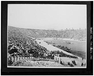 1923 Rose Bowl - Image: Rose Bowl 1923