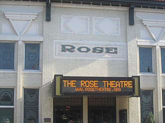 National Register of Historic Places listings in Morehouse Parish, Louisiana - Image: Rose Theatre, Bastrop, LA IMG 2798