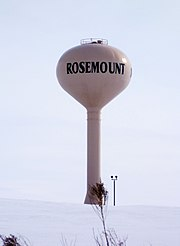 Rosemontmnwatertower