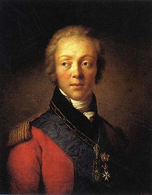 Fyodor Rostopchin - Count Fyodor Rostopchin.  Portrait by Salvatore Tonci.
