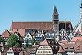 Rothenburg ob der Tauber, Burggasse, Ansicht vom Wehrgang am Spital 20170526 021.jpg