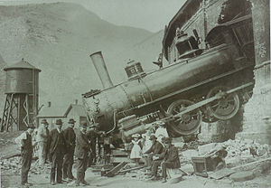 Minturn, Colorado - Roundhouse Crash 1913