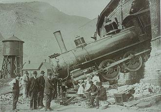 Minturn, Colorado - Roundhouse Crash 1913