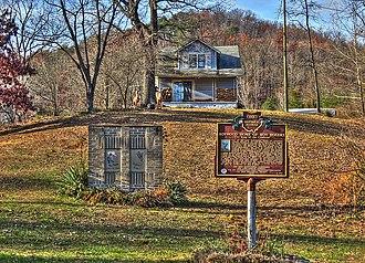 Roy Rogers - Rogers's boyhood home at Duck Run, near Lucasville, Ohio