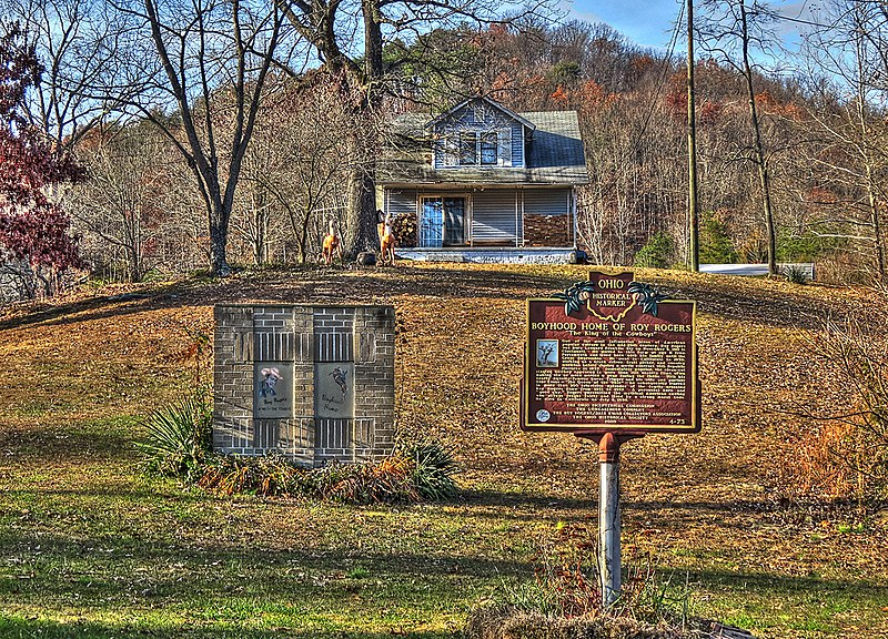 File:Roy Rogers Boyhood Home at Duck Run.jpg
