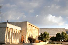 Buildings of the Royal Alberta Museum.