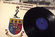 Royal Military College of Canada band centennial album 1975
