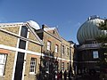 Royal Observatory Greenwich - 28-Inch Telescope Dome and Meridian Building (8128815256).jpg