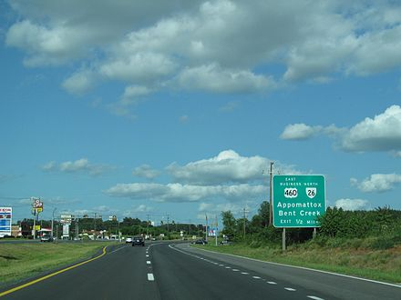 U.S. Route 460 in Virginia - Wikiwand