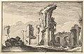 Ruins of St Croix de Jerusalem MET DP829223.jpg