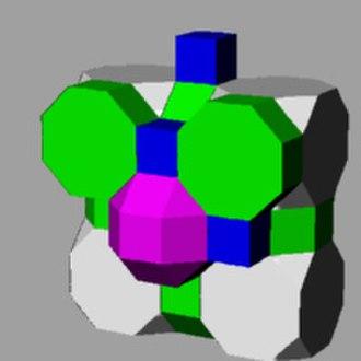 Octagonal prism - Image: Runcitruncated cubic honeycomb