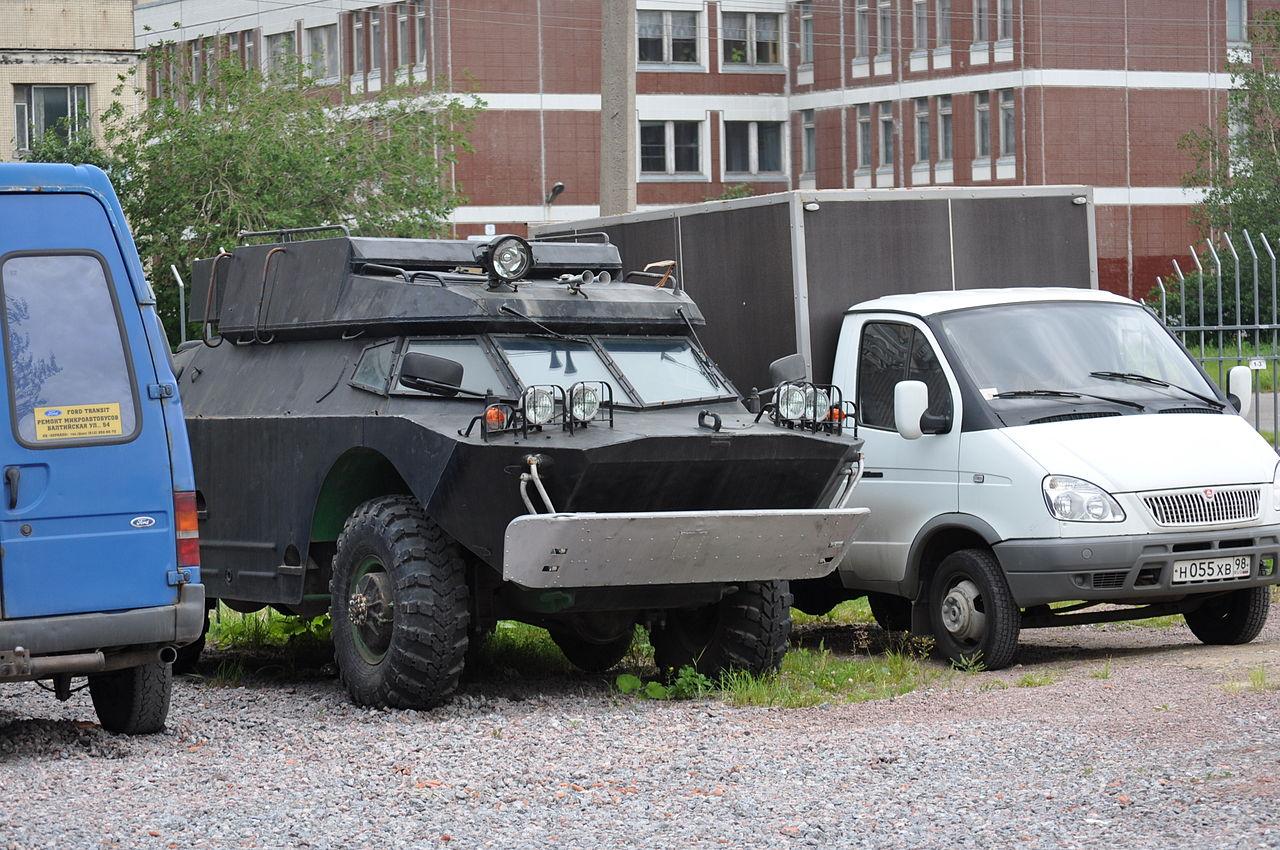 Russian Brdm  Amphibious Armored Scout Car