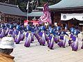 Ryôzengokoku-jinja Shintô Shrine - Ryôma-Yosakoi2.jpg