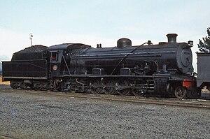 South African Class 14 4-8-2 - Image: SAR Class 14R 1701 Millsite 230479
