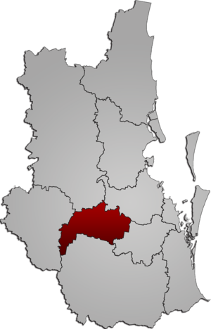 City of Ipswich - Location within South East Queensland