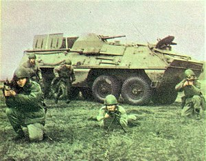 Armoured personnel carrier - Czechoslovak and Polish OT-64 SKOT