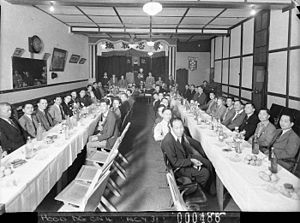 Australia–China relations - Image: SLNSW 12928 A Chinese Kuo Min Tang political luncheon taken for Stanley Quon
