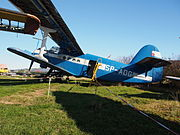 SP-AOG (aircraft) Antonov AN-2, Internationales Luftfahrtmuseum Manfred Pflumm.JPG