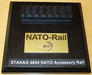 NATO Accessory Rail - NATO Accessory Rail (STANAG 4694)