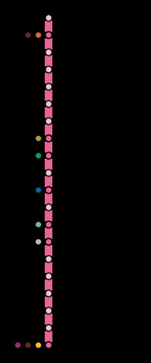 Mexico City Metro Line 1 - Image: STC line 1 diagram