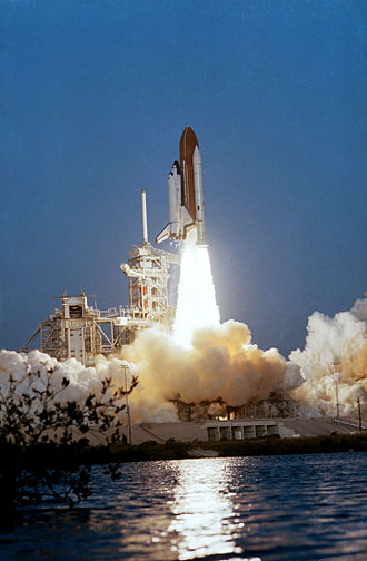 STS-5 - Image: STS 5 Launch (18277306658)