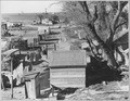 Sacramento, California. Fifty to sixty families pay $1 per month ground rent. No sanitary facilities . . . - NARA - 521792.tif